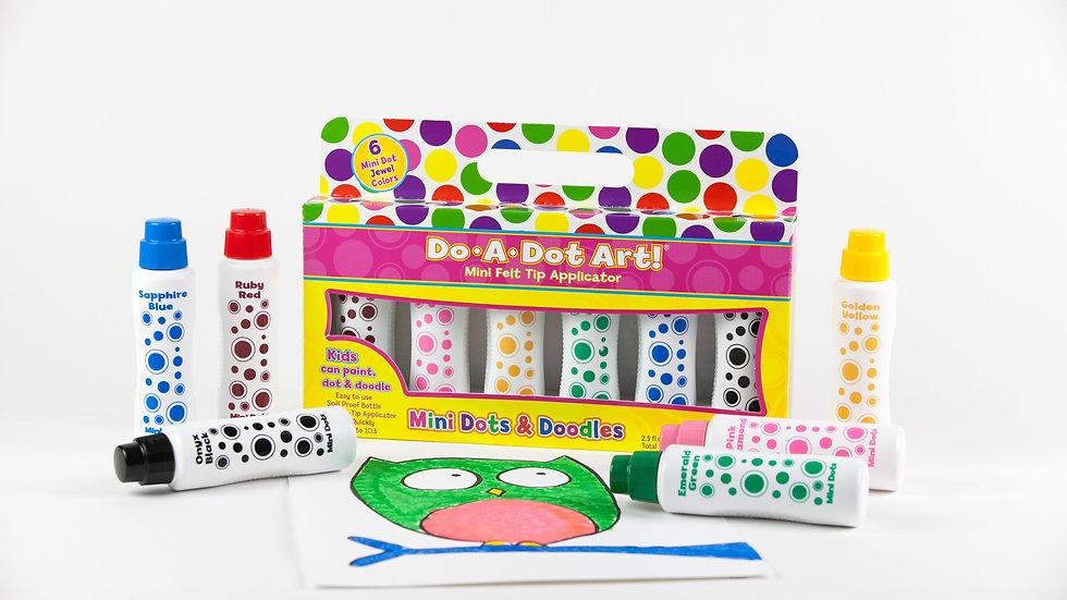 Mini Dots & Doodles - Jewel Tones