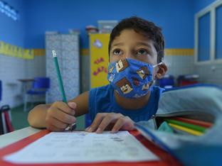 Mais 14 unidades escolares no ensino híbrido seguro esta semana