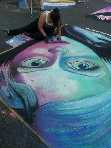 Art Splash Chalk Festival