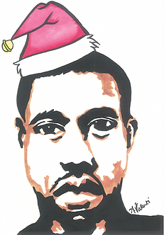 Have a Yeezy Christmas Card