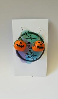 Spooky Pumpkin Head