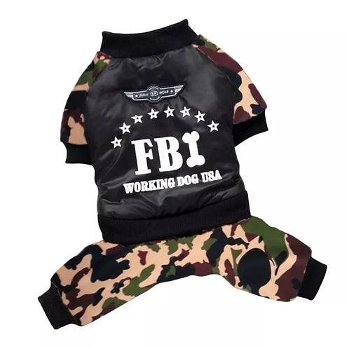 Macacão FBI