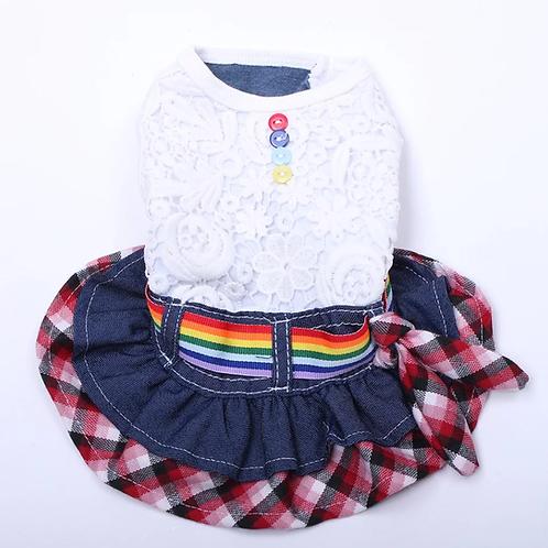 Vestido arco íris