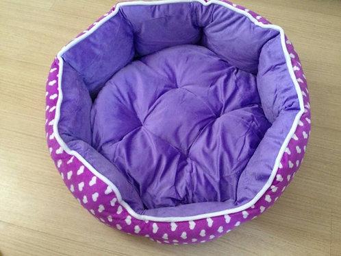 Cama lilás