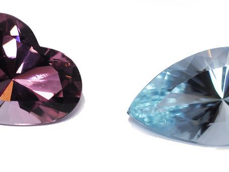 Paraiba含銅電氣石也有紫紅色的嗎?