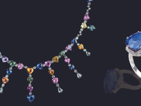 紫外可見光(UV-VISIBLE)光譜儀對於深層染色(鈹擴散)處理剛玉的鑑定