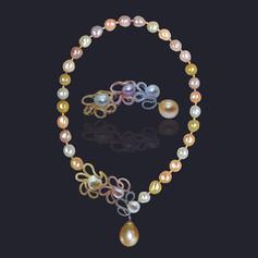 彩珠 項鍊