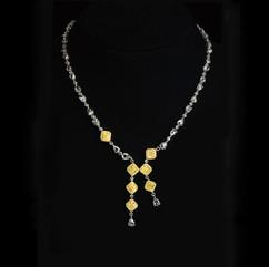 鑽石 彩鑽項鍊