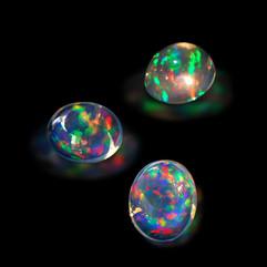 水晶蛋白石