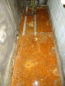 Condensate drain pan refurbishment