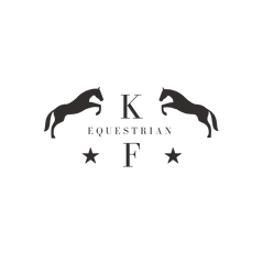 KF EQUESTRIAN jpeg balck and white .png
