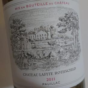 Château Lafite Rothschild Pauillac Premier Grand Cru Classe 2011