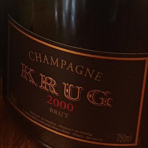 Champagne Krug 2000