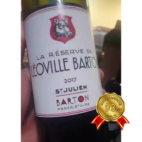 Château Leoville & Langoa Barton La Reserve de Leoville Barton 2017