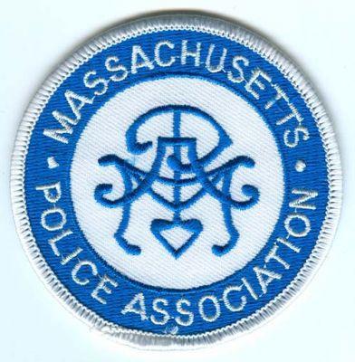 Massachusetts Police Association Patch