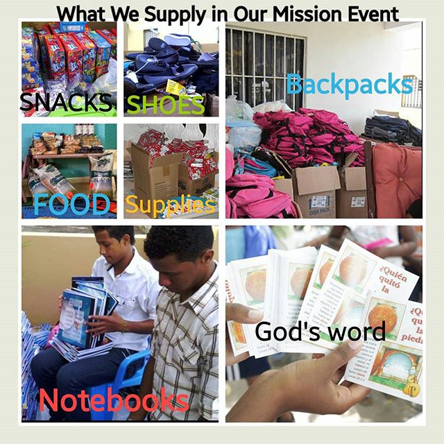 Our Missionary Event Starts in October!