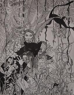 Los ultimos, 2013 ink on paper 11_x8.5_