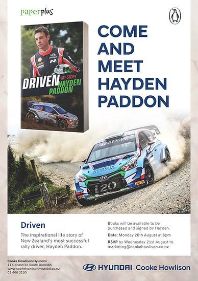 SY1236 - HYN - Hayden Paddon Book Launch