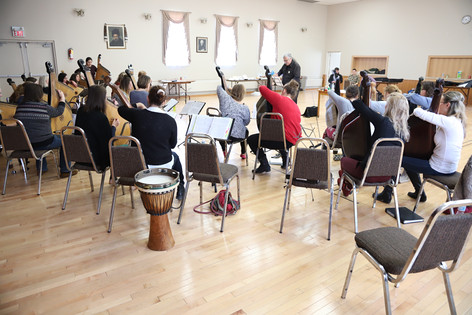 Toronto February 2018 rehearsal.