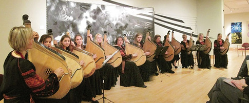 East Coast Regional Group performs at the Ukrainian Museum in New York City. February 2016.
