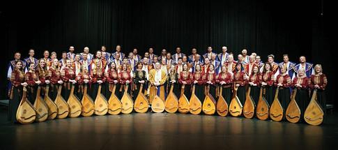 Premiere concert with Ukrainian Bandurist Chorus. October 2016.