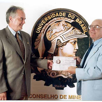 Diplomações de Conselheiros Eméritos de Minerva