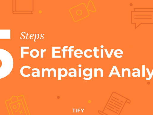 5 steps for Effective Campaign Analysis