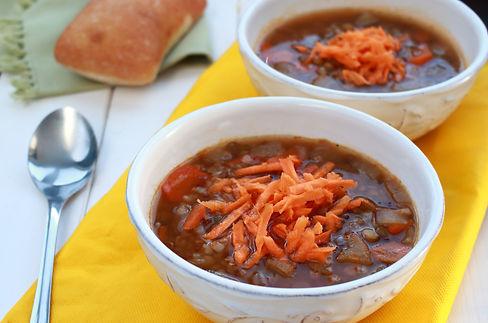 bezlepková polievka, šošovicovo-pohánková polievk,a zdravá polievka, pohánková polievka, čšošovicová polievka, polievka s pohánkou, buckwheat soup