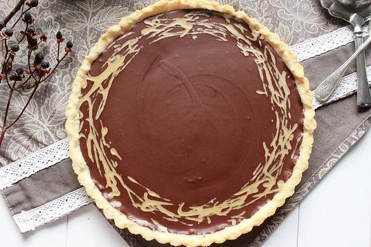 sezamový koláč, vgánsk cheesecake, čokládovo-sezamvý tart, tahini recepty, tahini cheesecake, tahni tart