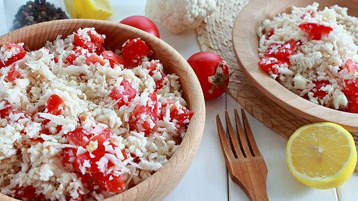 cauliflower rice, karfiolová ryža, raw ryža, vitariánska ryža, zdravá ryža, karfiol, surový karfiol