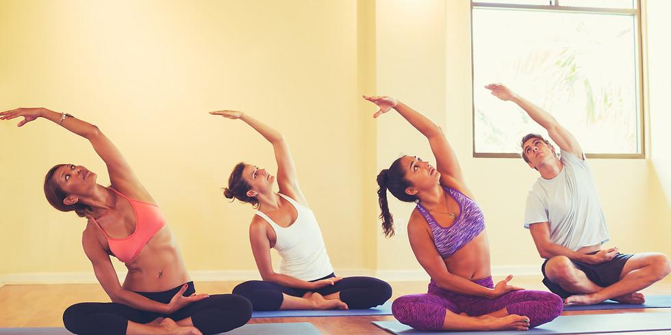 Hatha Yoga-Monday Mornings-11:00-12:00-6 Weeks