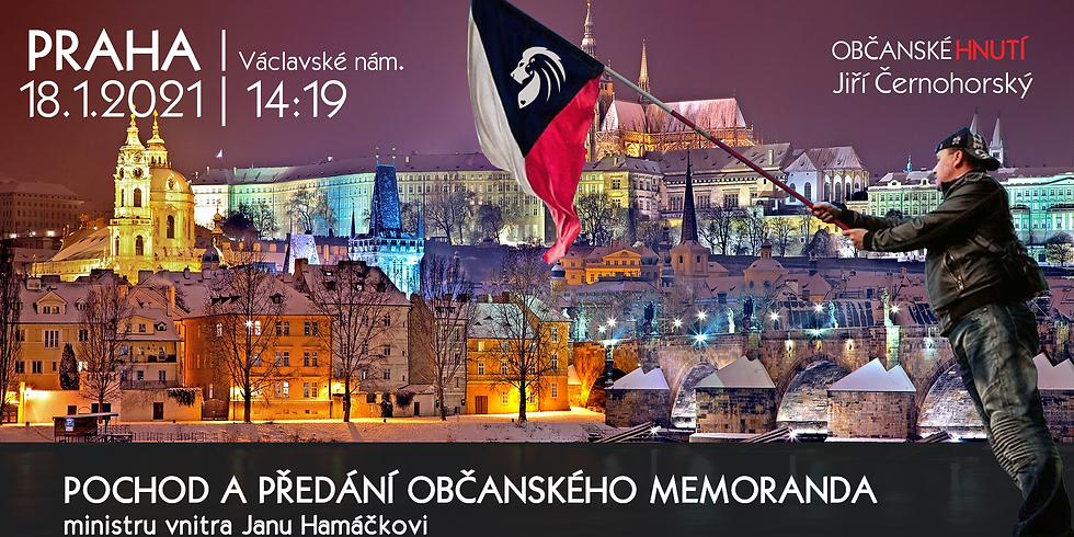 Občanské memorandum ministrovi vnitra Janu Hamáčkovi