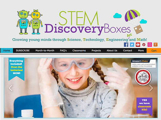 STEM Discovery Boxes