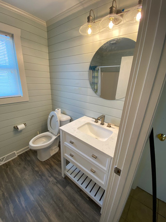Oak Island Bathroom Remodel
