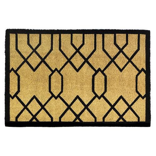 Gatsby Art Deco Coir Doormat