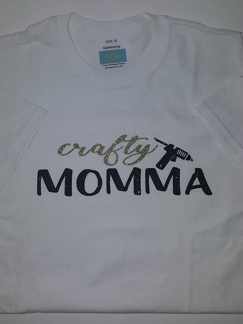 """Crafty Momma"" Tee"