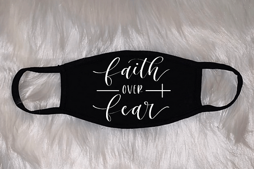"""""""Faith Over Fear"""" Face Mask (NoBling)"""