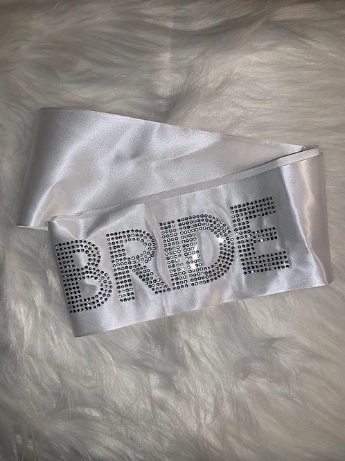 """""""BRIDE"""" Sash"""