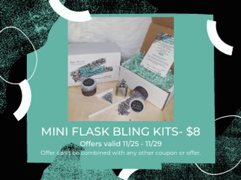 MINI FLASK BLING KIT