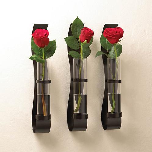 Billow Wall Vases Trio