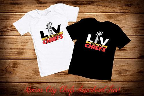 Kansas City Chiefs Superbowl LV (55) Tee
