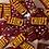 Thumbnail: Kansas City Chiefs Resin Dominoes-Red