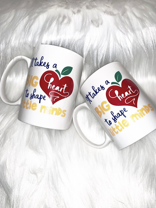 """It Takes A Big Heart..."" Coffee Mug"