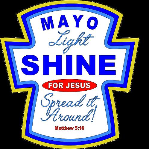 Mayo Light Shine Tee