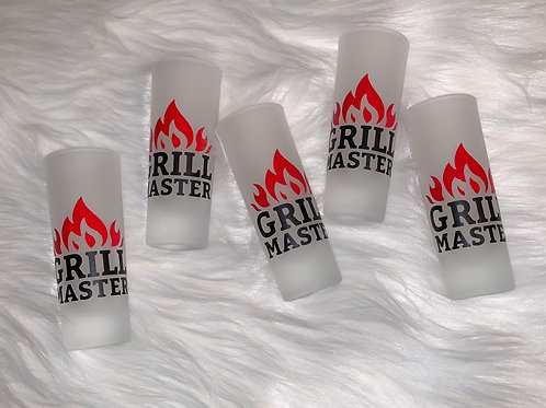 """""""Grill Master"""" Shot Glass"""
