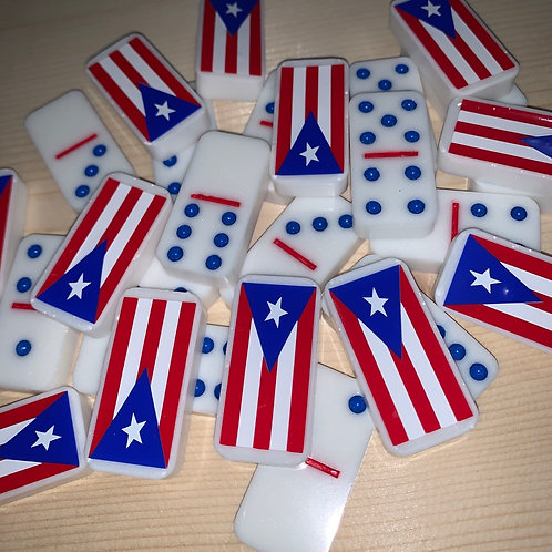 Puerto Rico Resin Domino Set