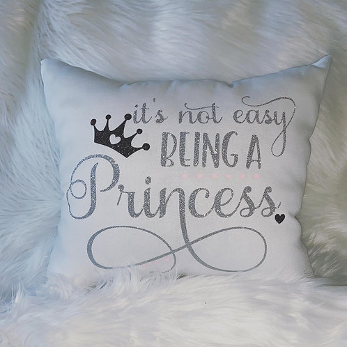 """It's Not Easy"" Decorative Pillow"