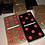 Thumbnail: Black & Gold Glitter Custom Domino Set