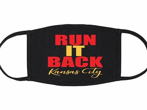 Run It Back Kansas City Face Mask