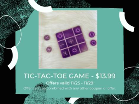 CUSTOM TIC-TAC-TOE GAME